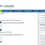 Instant E-Training SEO Strategies thumbnail image