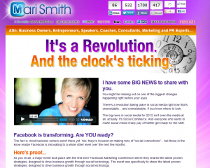 Mari Smith's Extreme Fanbase Growth course overview page full size image