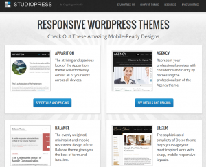 StudioPress.com Responsive (mobile ready) Wordpress theme collection gallery page full size image