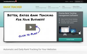 SwissMadeMarketing.com Rank Tracker SEO Rank tracking software overview page full size image