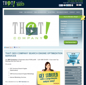 SEOCompany.com SEO Services home page full size image