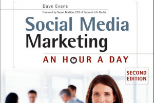 'Social Media Marketing: An Hour a Day' book front cover image