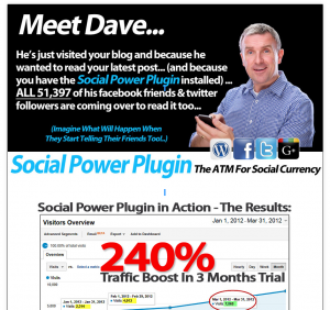 The Social Power Plugin (codeeagle.com/wp/socialpowerplugin) Wordpress SMM plugin sales page full size image