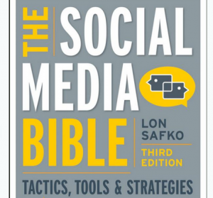 'The Social Media Bible' book front cover image