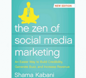 'The Zen of Social Media Marketing' book front cover image