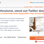 99Designs Twitter Design thumbnail image