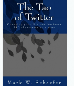 'The Tao of Twitter' book front cover full size image