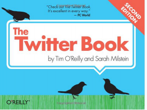 'The Twitter Book' book front cover full size image