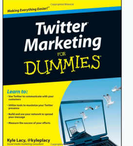 'Twitter Marketing For Dummies' front cover image