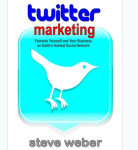 'Twitter Marketing: Promote Yourself..' book front cover image