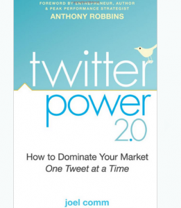 'Twitter Power 2.0' book front cover full size image