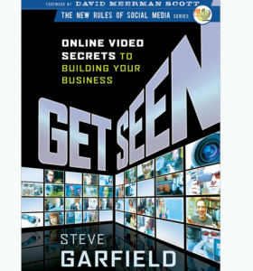 'Get Seen' book front cover full size image