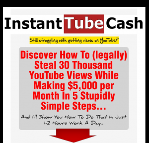 'Instant Video Cash' (InstantVideoCash.com) sales page full size image