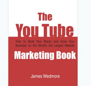'The Youtube Marketing Book' front cover full size image