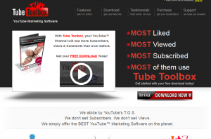 Tube ToolBox (TubeToolBox.com) sales page full size image