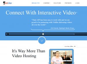 Viddler.com home page full size image