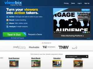 Viewbix (Viewbix.com) home page full size image