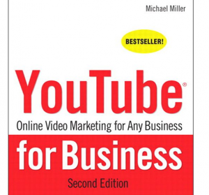 'YouTube for Business' book front cover full size image