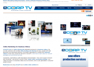 ecorptv.com home page full size image