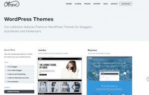 Obox Responsive Themes Collection page full size image