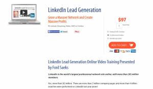 'Linkedin Lead Generation' (PrimeConcepts.com/store/linkedin-lead-generation) sales page full size image