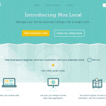 Moz Local (moz.com/local) overview page full size image