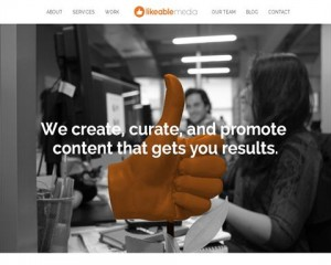 Likeable Media (likeable.com) home page full size image