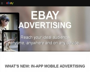 Ebay Adevertising overview page full size image