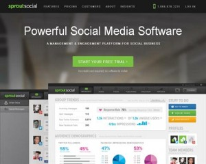 SproutSocial.com SMM Management software home page full size image