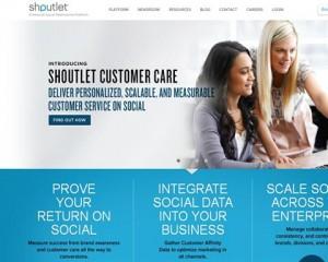 Shoutlet.com home page full size image