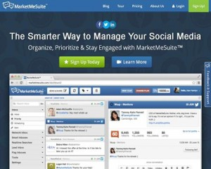 MarketMeSuite.com Social Media Management Software home page full size image