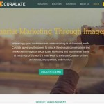 Curalate (curalate) home page full size image