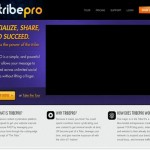 TribePro.com home page full size image